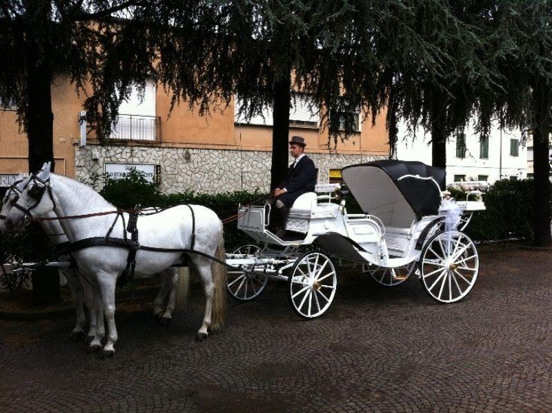 Carrozza Bianca Interno Bianco
